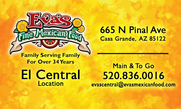 Eva's Fine Mexican Food Contact Info